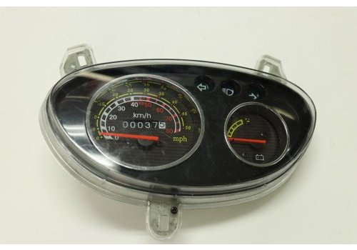 Amego Analogue Speedometer Display Wind