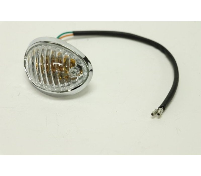 Front Left Turning Signal Light (Blast)