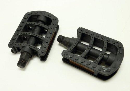 Amego Pedal Set (Black Plastic)