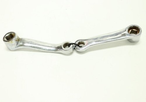 "Amego Crank Arm Set Silver 5"" (eBreeze, Stream)"