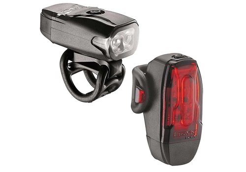 Lezyne Lezyne, KTV Drive, Light, Set, 10/180 Lumens, Black