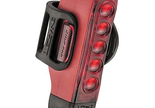 Lezyne Lezyne, Strip Drive Pro, Flashing Rear Light, Red