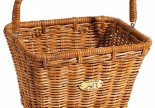 Nantucket Bicycle Basket Co. Dutch Rectangle with Hooks
