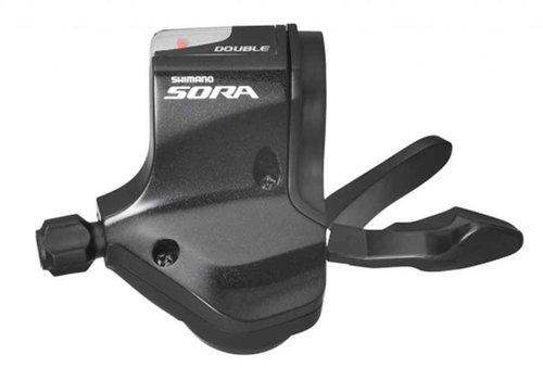 Shimano, Sora SL-3500, Shift levers, 2X9 sp., Pair
