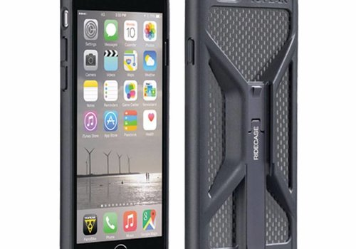 Topeak Topeak Weatherproof Ridecase for iPhone 6+ ONLY, Black