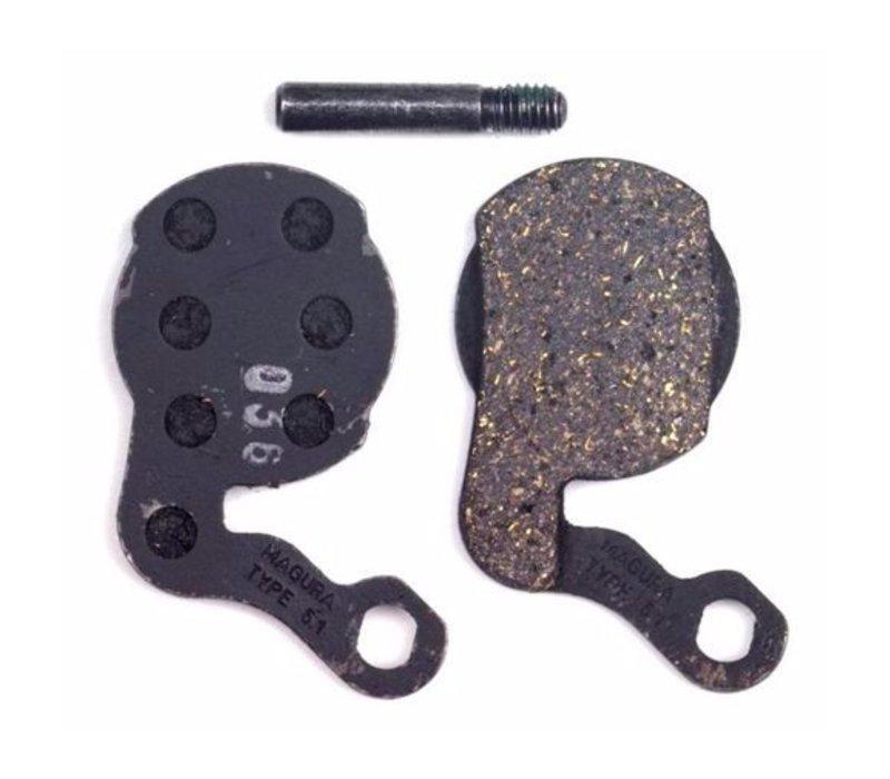 Magura, Type 6.1 Louise 2007-2011, brake pads