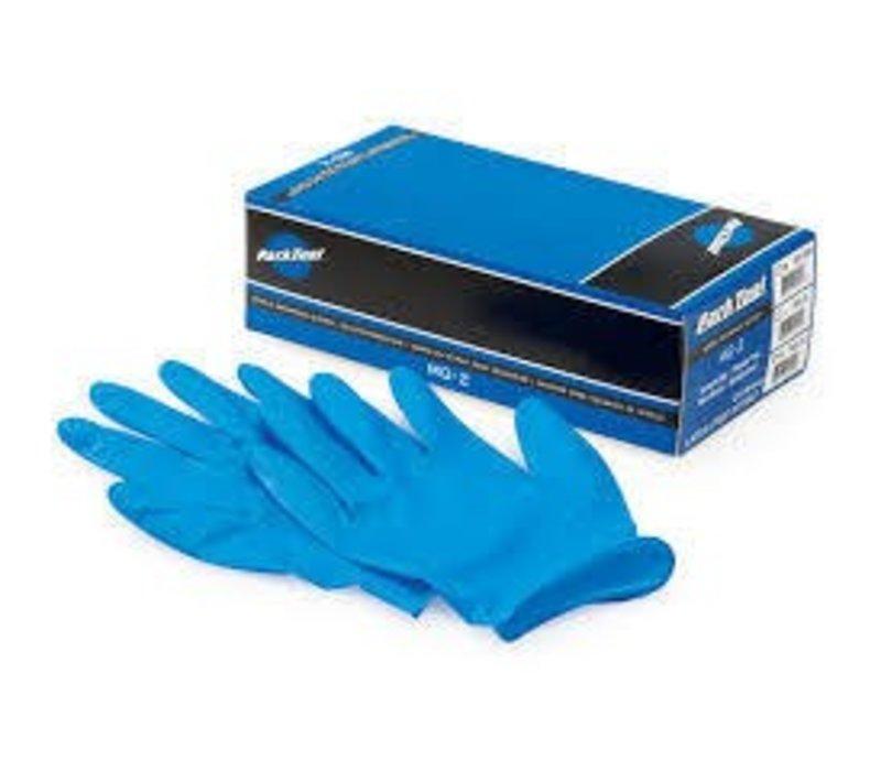 Park Tool, MG-2, Nitrile mechanics gloves, Box of 100, M
