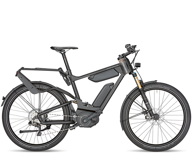 Riese & Muller Delite 25 Signature Dual Battery Black 2018