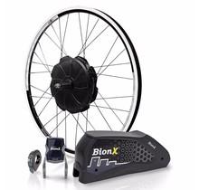 BionX, P 350 DV, Electronic assist system, 700c, Black Rim, Black Spokes