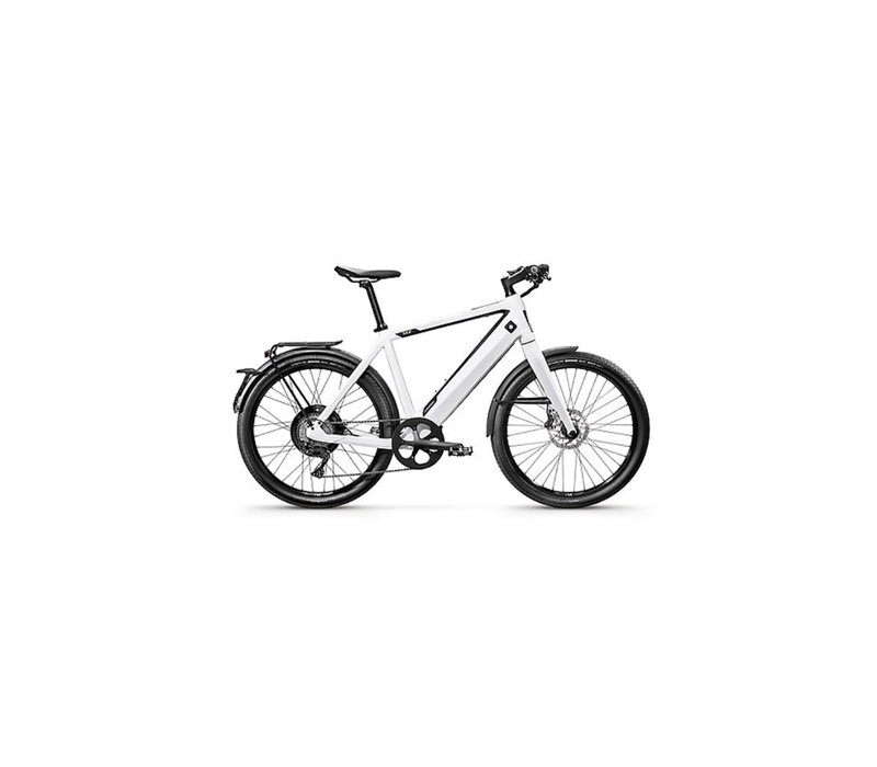 Stromer ST2 Sport 22 White with 814Wh, Gold Battery