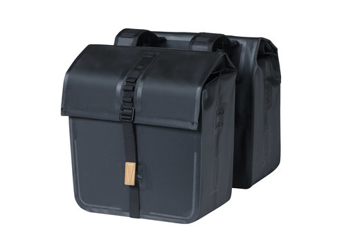 Basil Basil, Urban Dry Double Bag, Double bag, Solid Black