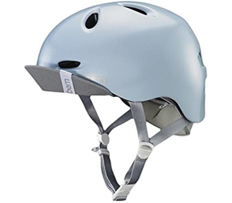 Bern Berkeley Helmet Satin Sky Blue M/L