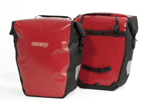 Ortlieb Ortlieb City Back Roller QL1 Pannier, 40L Red/Black used
