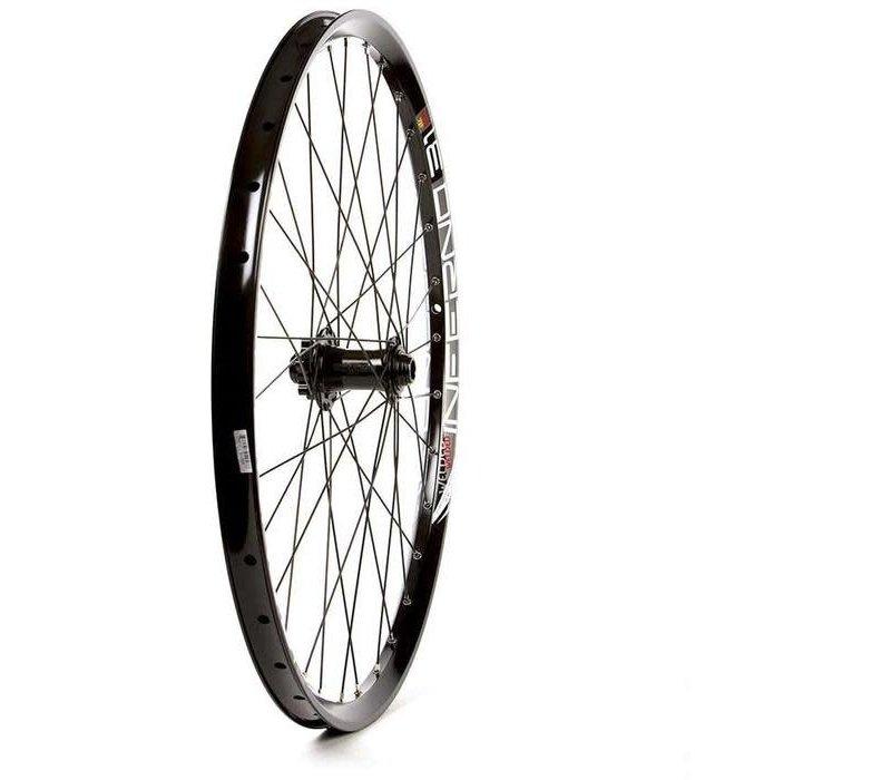 Wheel Shop, Front 26'' wheel, Inferno 31/ Novatec D881SB/A, 32 DT Stainless Black spokes, 15/20x100mm TA