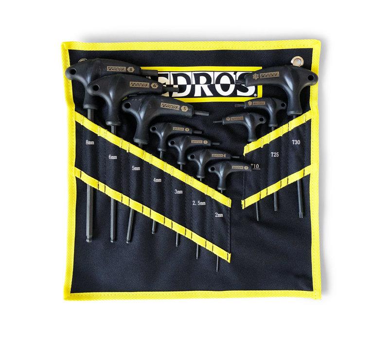 Pedros, Pro T/L Handle Hex & Torx Set, Hex Wrench, Set of 10, Set