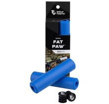Wolf Tooth components, Fat Paw, Grips, 135mm, Blue