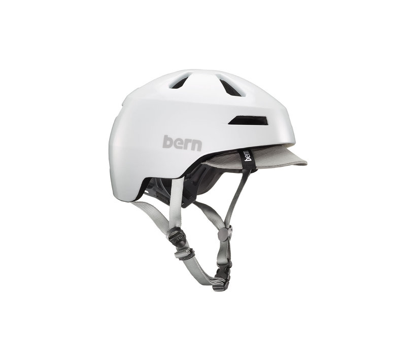 Bern, Brentwood 2.0 MIPS, Helmet, White, M, 55.5 - 59cm