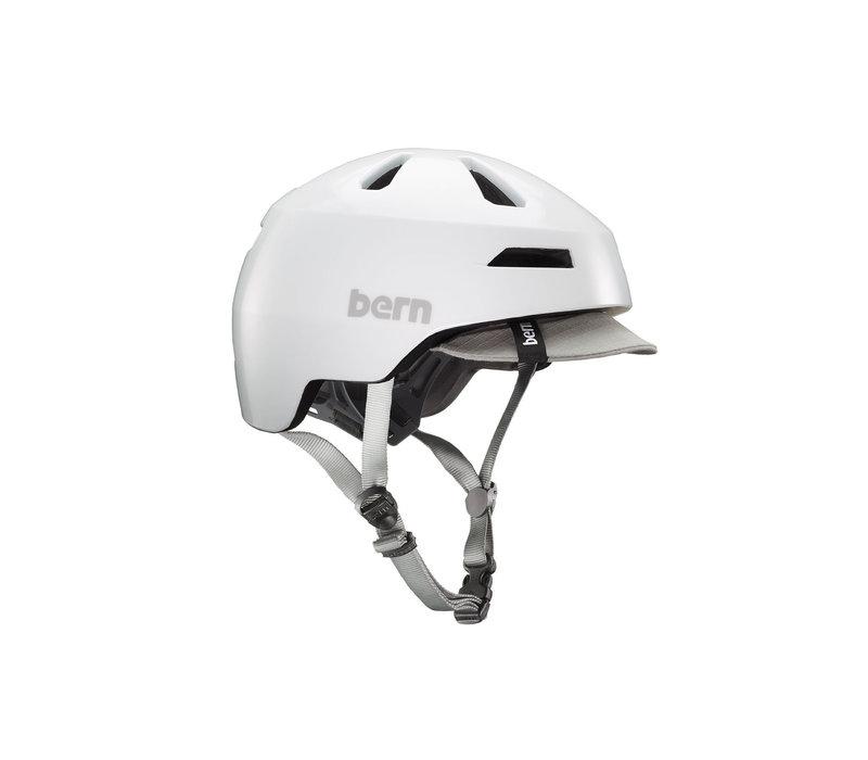 Bern, Brentwood 2.0, Helmet, Satin White, S, 52 - 55cm