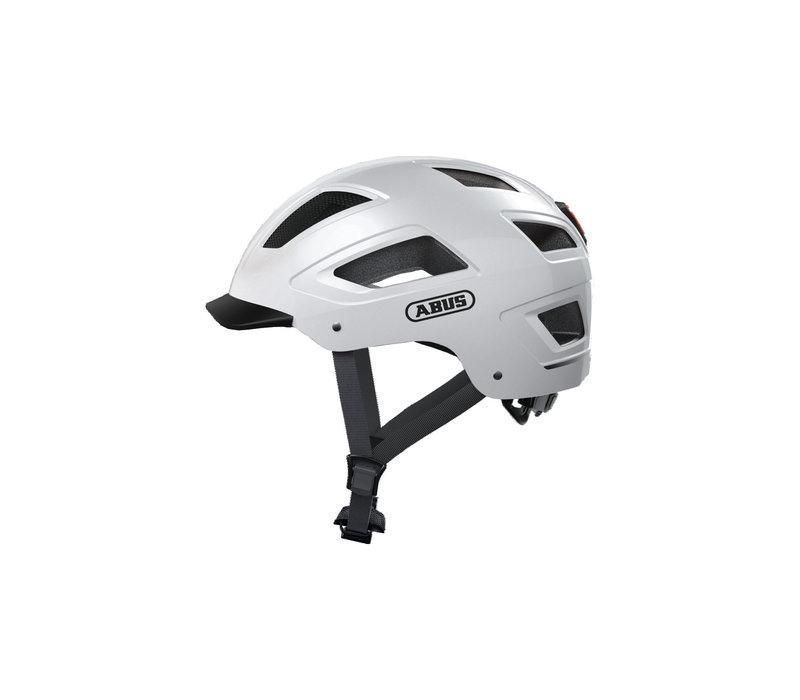 Abus, Hyban 2.0, Helmet, Polar White, L, 56 - 61cm