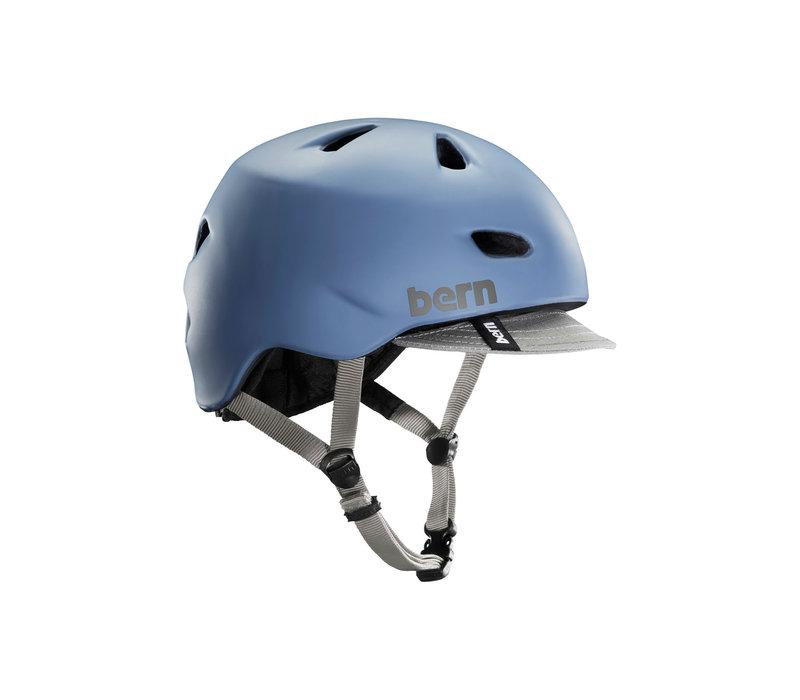 Bern Brentwood Helmet Matte Steel Blue S/M