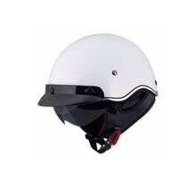 LS2 SC3 WHITE Scooter Helmet