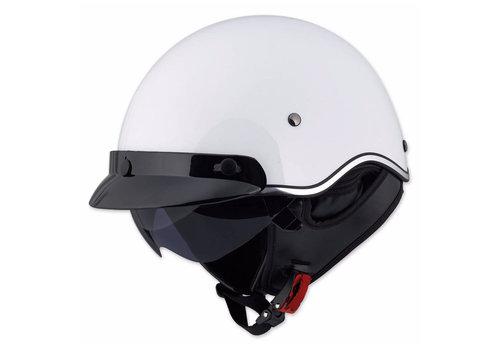 LS2 LS2 SC3 WHITE Scooter Helmet