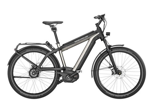 Riese & Muller Riese & Muller 2019 Supercharger GH Vario  Urban Silver Metallic 46cm 1000wh