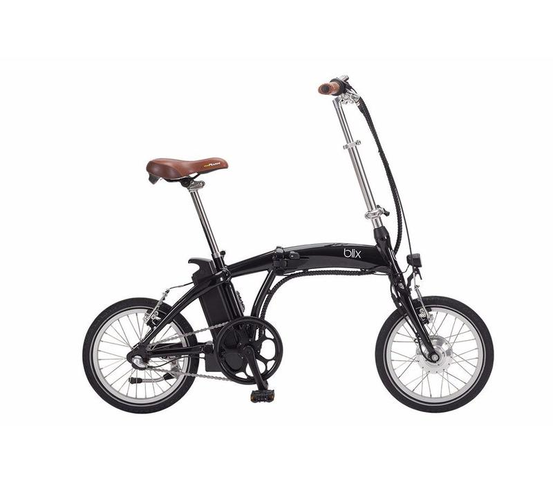 Blix, Vika Travel 16inch Folding Bike, Black