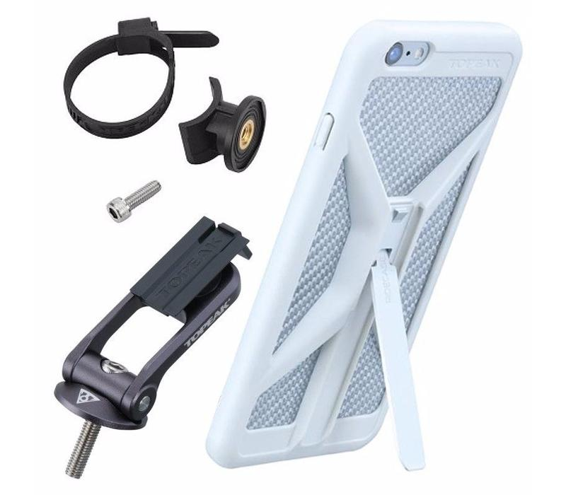 Topeak Ridecase W/ mount Iphone 8/7/6s/6 White