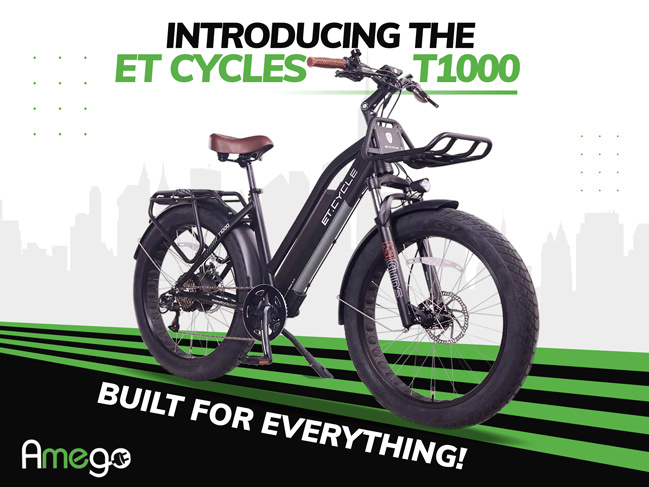 Introducing The ET Cycles T1000 Fat Tire Electric Bike