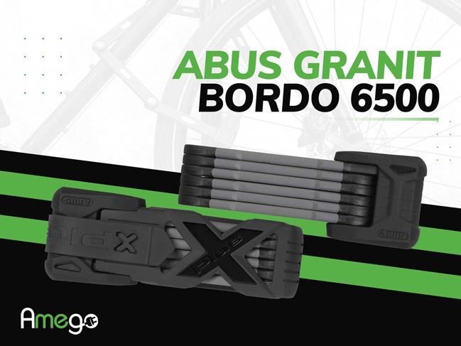 Maximum eBike Security: Abus Bordo Granit XPlus 6500 eBike Lock