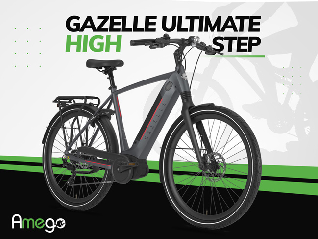 Getting To Know The Gazelle 2021 Ultimate T10 High-Step Electric Bike