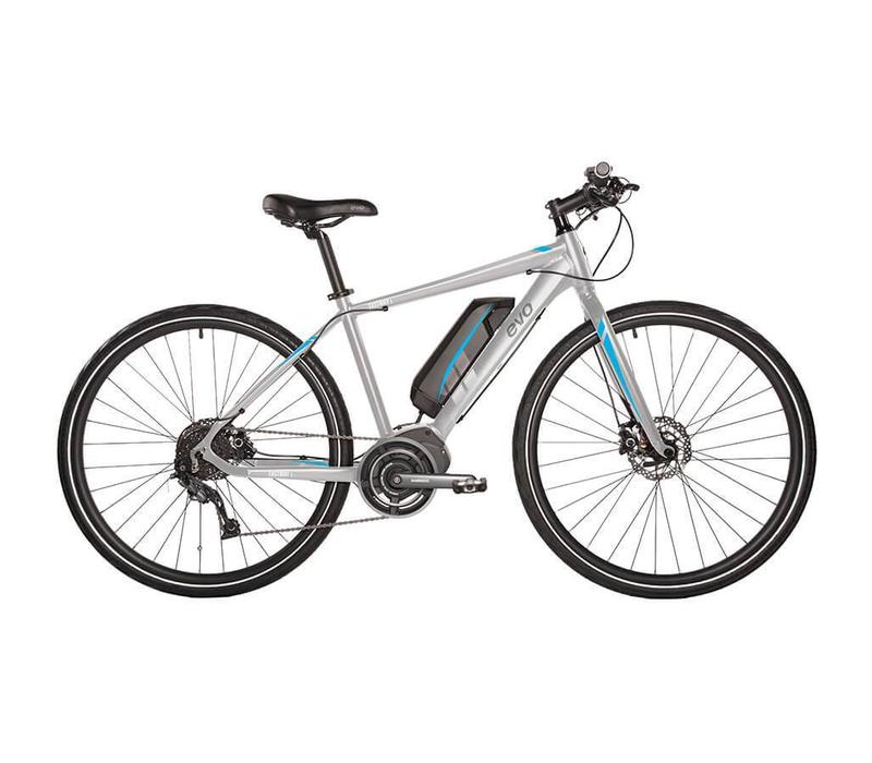 EVO, Fastway 3.0 e-Bike, Shimano STEPS, Grey, L