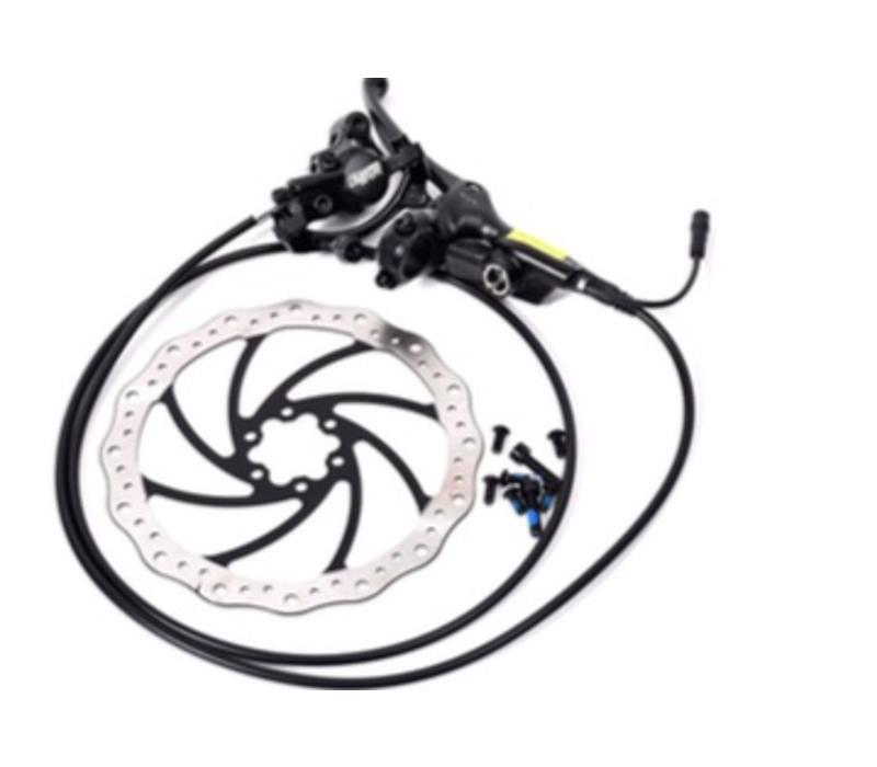 Stromer - Brake Rear Tektro Dorado ST1 ST1, ST1 T & ST1 S With sensor switch, includes rotor & mounting bolts