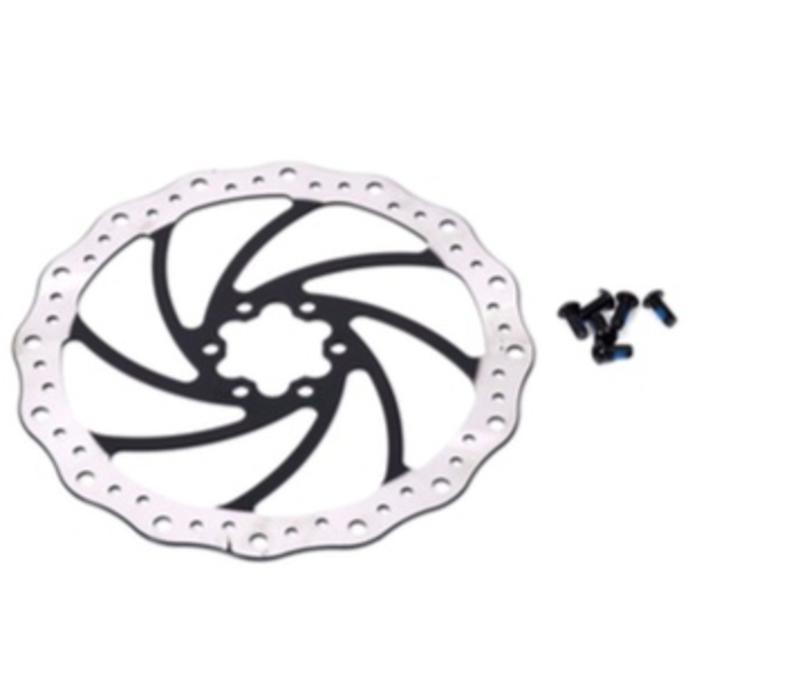 Tektro Brake Rotor TR180mm includes mounting bolts