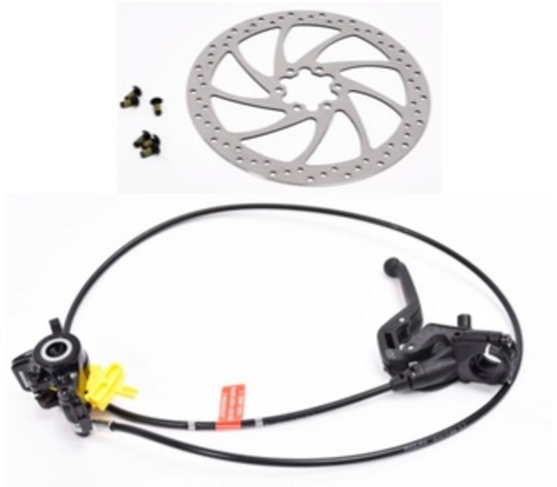 Stromer - Brake Assembly Front MT4 Next e ST2 includes rotor & mounting bolts