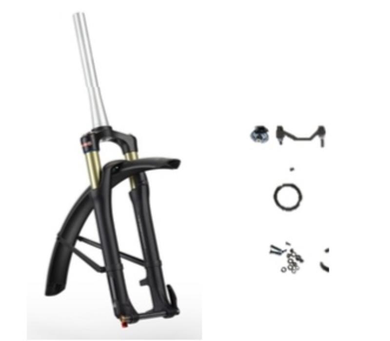 Stromer Suspension Fork Kit SR Epixon black matt ST2, ST2 S & ST1 X, Not approved for any ST1, except ST1 X