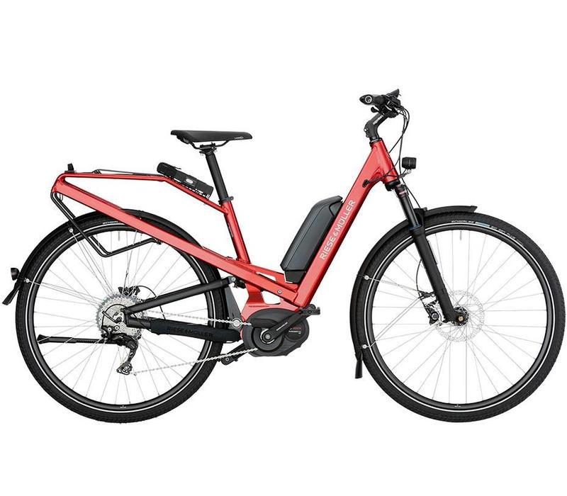 Riese & Muller Homage GT Nuvinci 2018 49CM, Electric Red, 500WH
