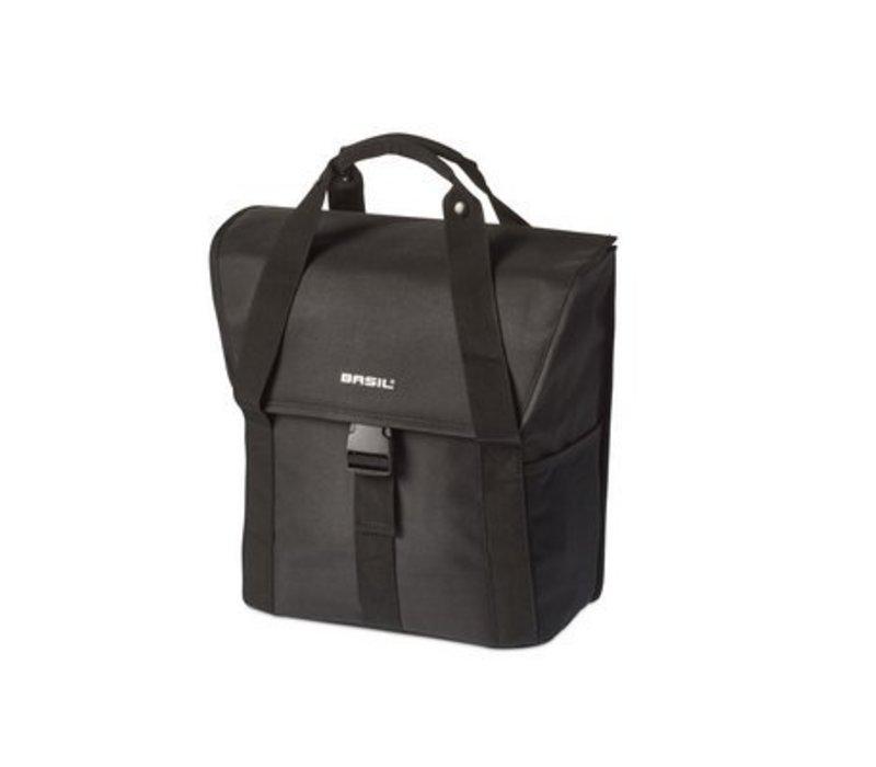 Basil Go Single Bag Solid Black (not a pair)