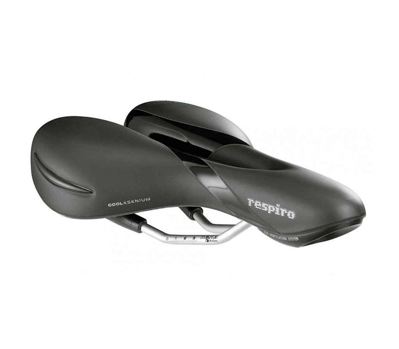 Selle Royal Respiro Moderate, Saddle, 263 x 199mm, Women, 475g, Black