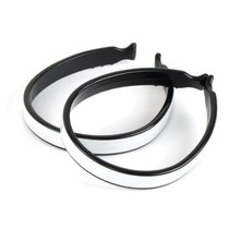 Plastic Pant Clip with Reflective Stripe