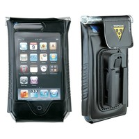 """Topeak IPhone 4/4S, fits up to 5"""" phone, DRYBAG 100% Waterproof, Black"""