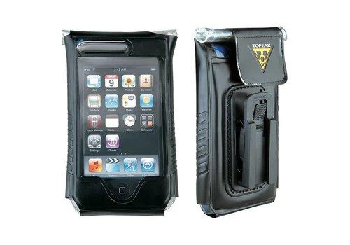 """Topeak Topeak IPhone 4/4S, fits up to 5"""" phone, DRYBAG 100% Waterproof, Black"""