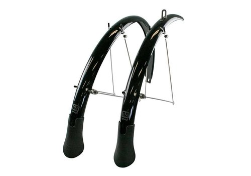 EVO EVO, Power Guard LT, Pre-assembled Fender Set with extra long mud flap 700 x 32 to 40C (width: 45mm)