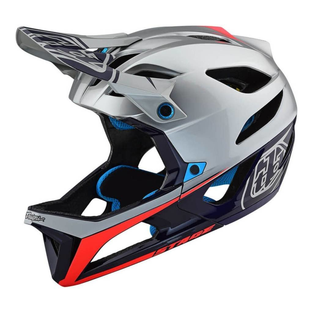 Troy Lee Designs Stage Stealth Visor Off-Road BMX Cycling Helmet Accessories Gray//One Size