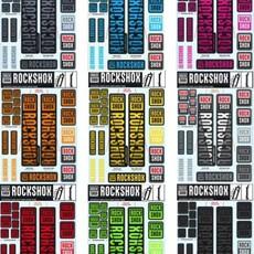 ROCKSHOX ROCKSHOX DECAL KIT 35mm