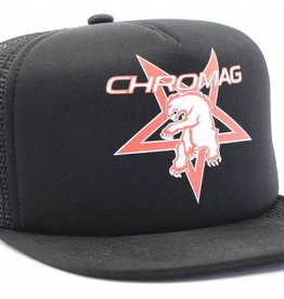 CHROMAG CHROMAG HAT TRUCKER THRASHER BEAR Black