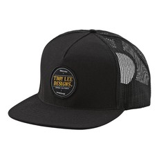 TROY LEE DESIGNS TLD HAT BEER HEAD SNAP BACK Black