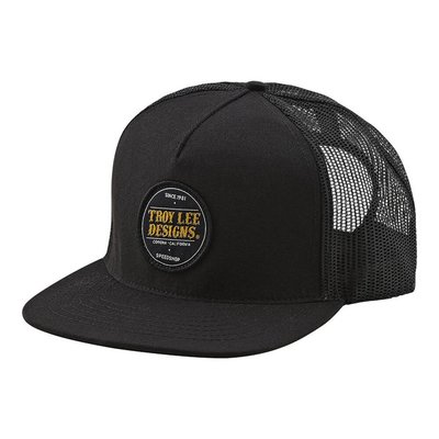 TROY LEE DESIGNS TLD HAT BEER HEAD SNAP BACK Black