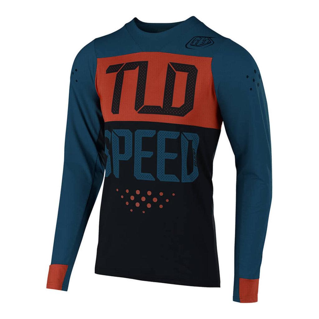 TROY LEE DESIGNS 19S TLD JERSEY SKYLINE AIR SPEEDSHOP L/S